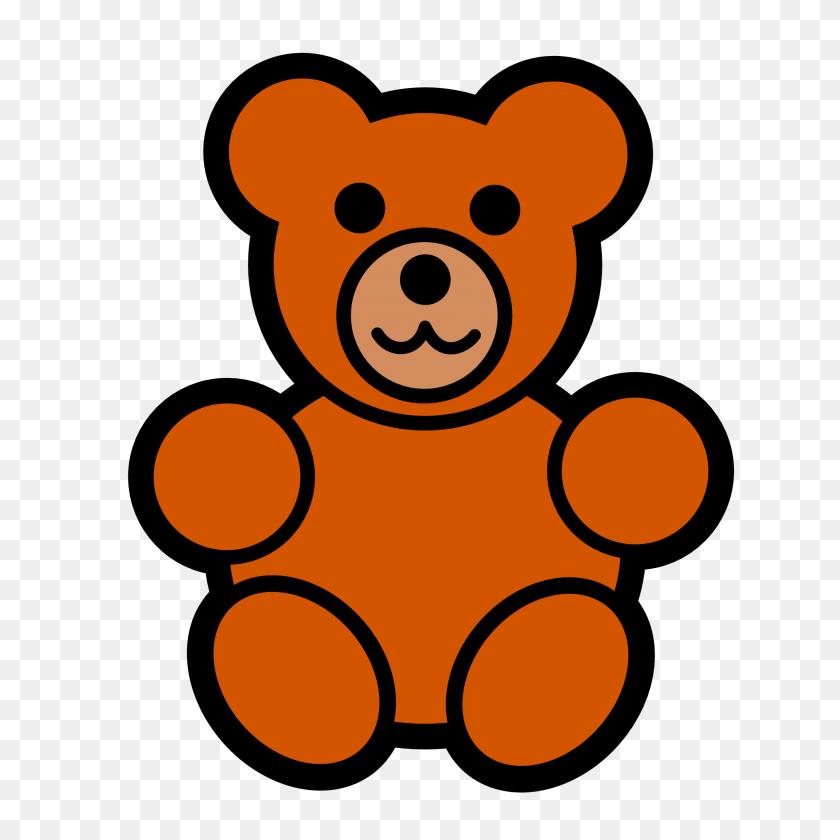 1979x1979 Drawn Head Teddy Bear - Baby Head Clipart