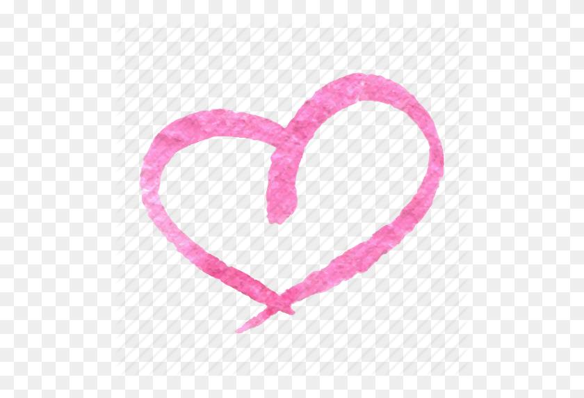 Drawn Hearts Hand Drawn - Hand Drawn Heart Clipart