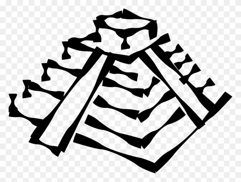 Drawn Pyramid Inca Pyramid - Aztec Pyramid Clipart