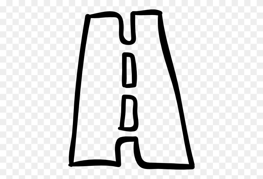 Drawn Road Transparent - Road Clipart Transparent