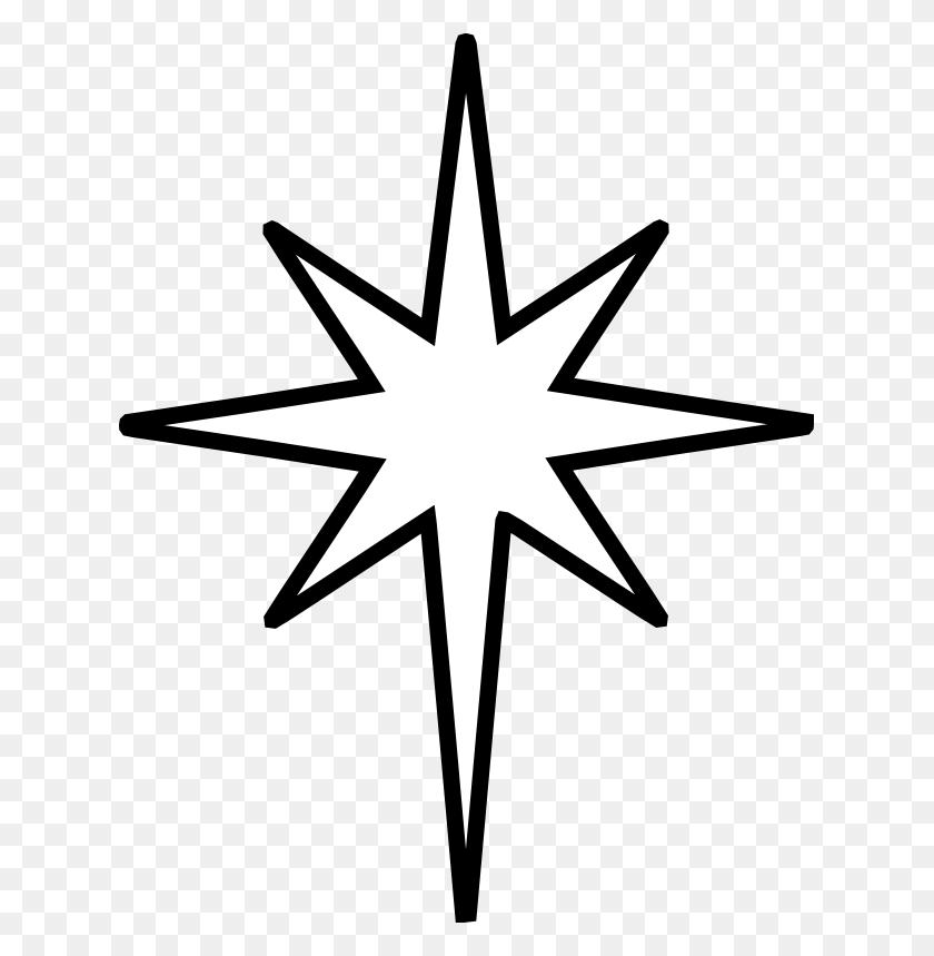 Drawn Stars Nativity - Nativity Clip Art Free