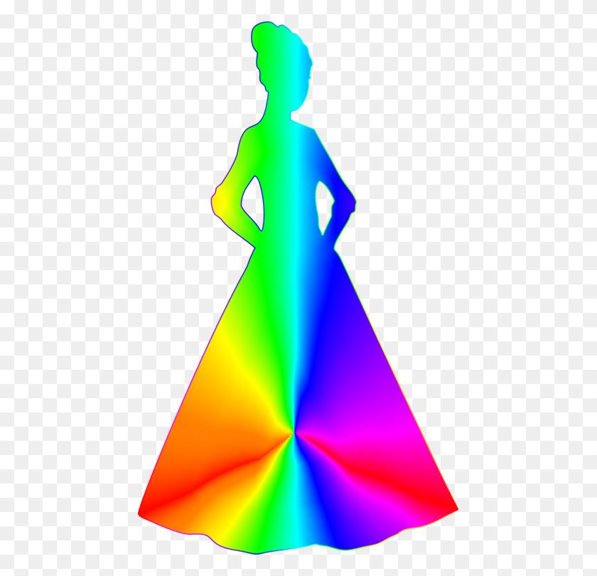Dress Silhouette Princess Hour Remix - Princess Dress Clipart