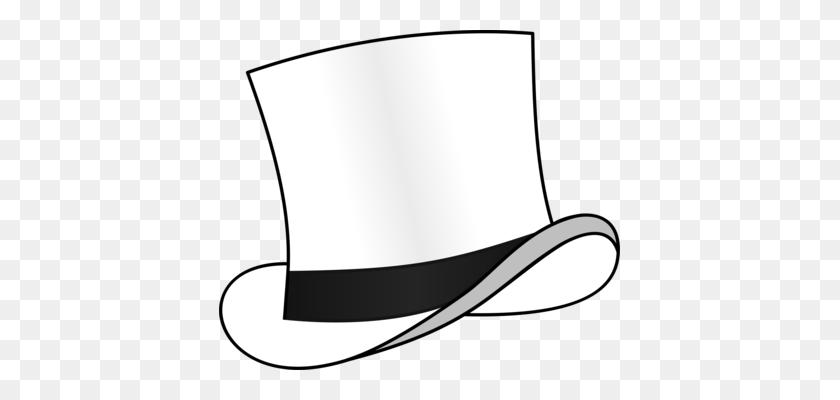 Dress Woman Top Hat Headgear - Top Hat Clipart