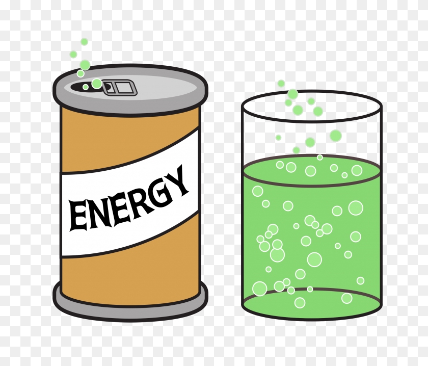 Drink Clipart Energy Drink - Energy Drink Clipart