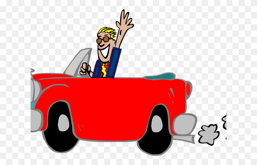 Driving Clipart Car Rider - Car Rider Clipart
