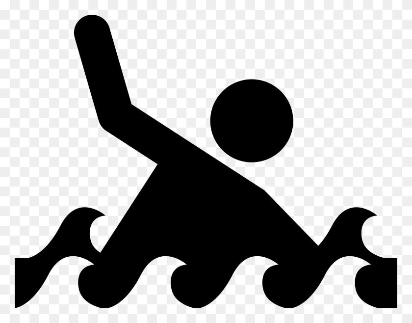 Drowning Icon - Mahalo Clipart