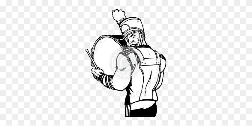 Drumline Clipart - Boulder Clipart