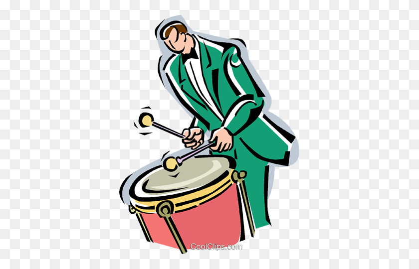 Drummer Drumstick Stock Illustrations, Cliparts And Royalty Free Drummer  Drumstick Vectors