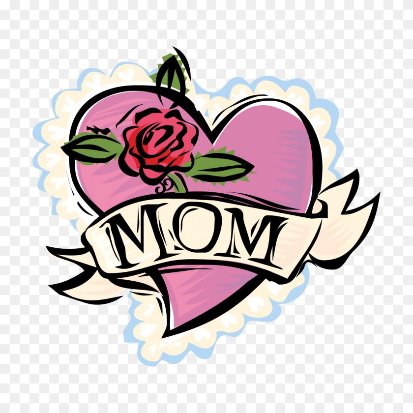 Ducks Clipart Mum - Mother Goose Clipart