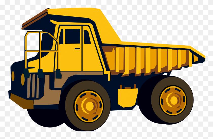Dump Truck Clip Art - Semi Truck Clipart