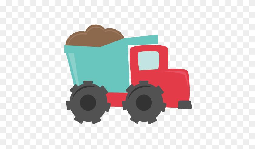 Dump Truck Cutting For Scrapbooking Dump Truck Cut - Trash Truck Clipart