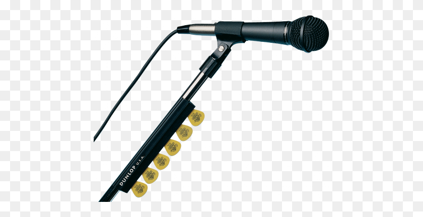 Dunlop Mic Stand Pick Holder - Mic Stand PNG