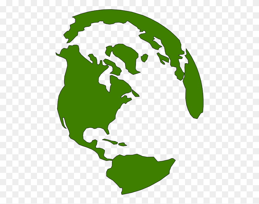 Earth Clipart Green Earth - Earth Clipart