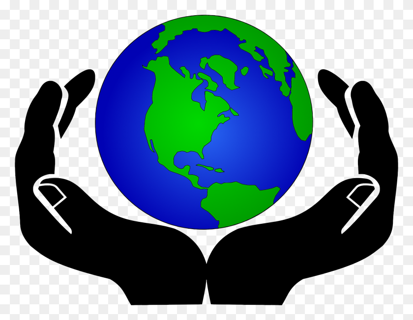 Earth In Hands Clipart Clip Art Images - Hand In Hand Clipart