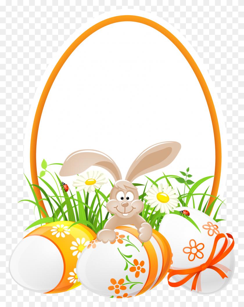 1501x1921 Easter Bunny Egg Hunt Clip Art - Free Easter Egg Hunt Clipart