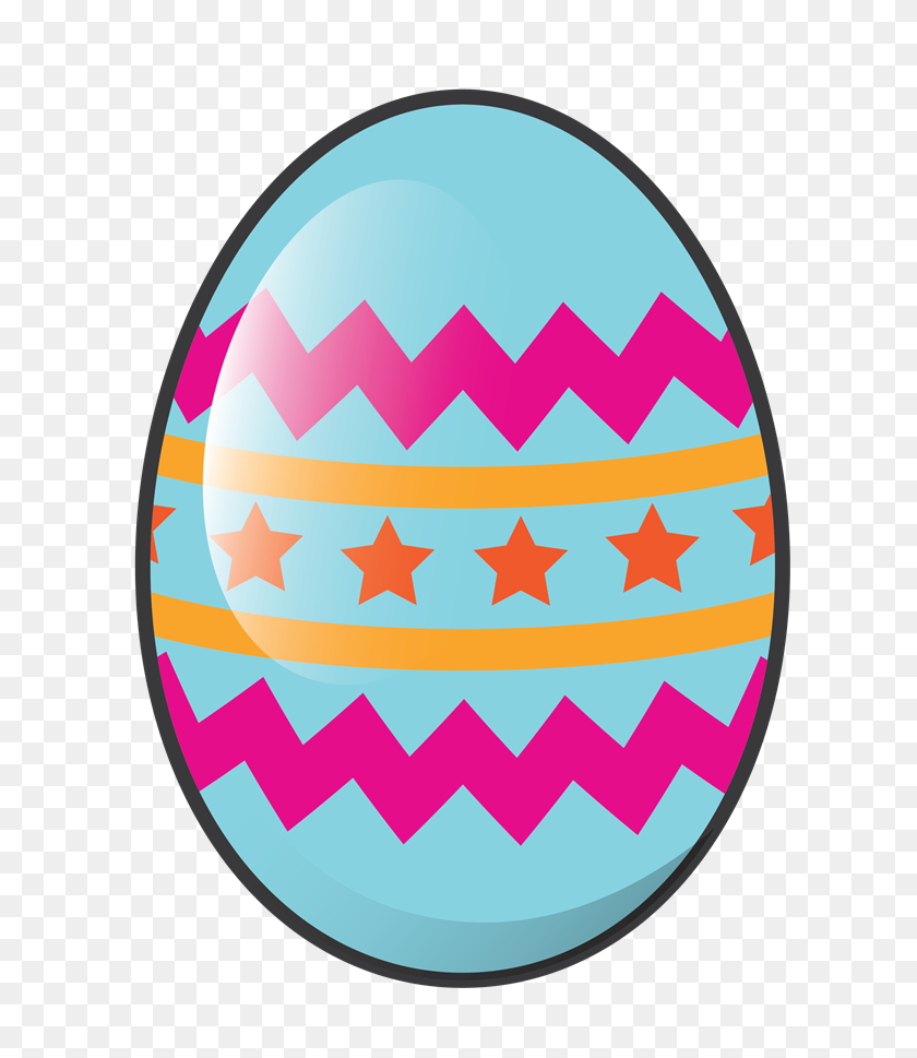Easter Egg Clip Art - Religious 4th Of July Clipart