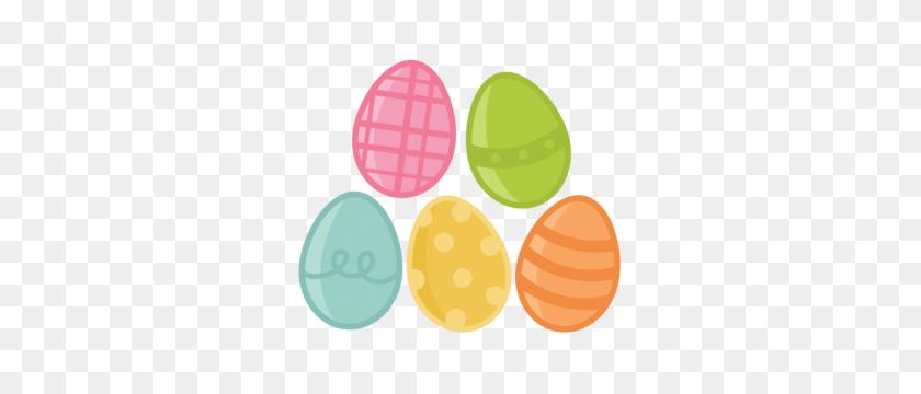 Easter Egg Set Scrapbook Cute Clipart - Free Egg Clipart
