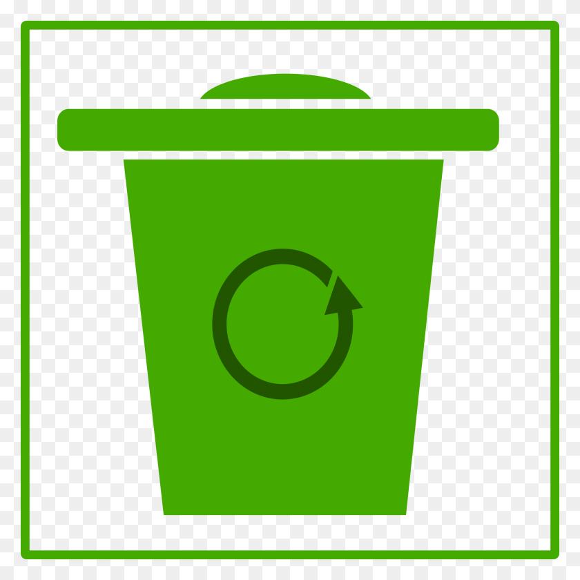 Eco Green Trash Icon Icons Png - Trash Icon PNG