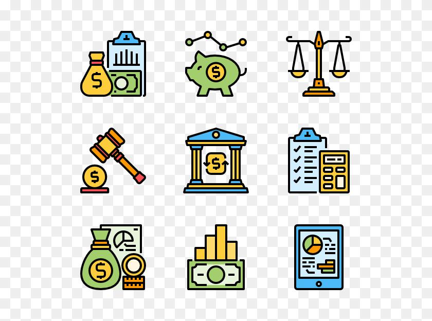 Economic Icon Packs - Market Economy Clipart