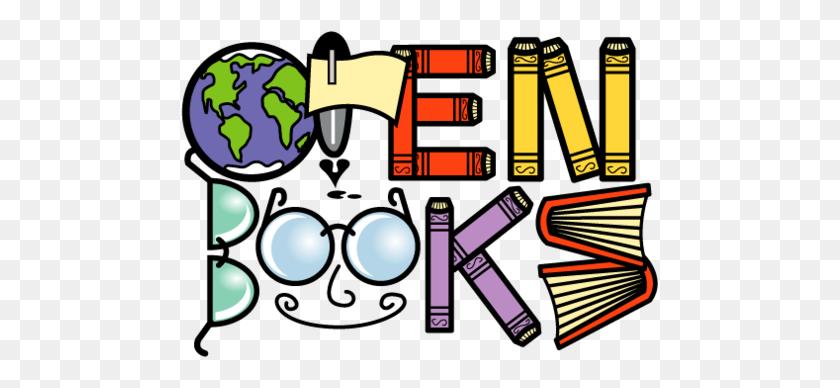 Edge Clipart Open Book - Open Book Clip Art