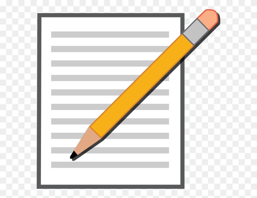 Edit Post Pencil Clip Art - Pencil Writing Clipart