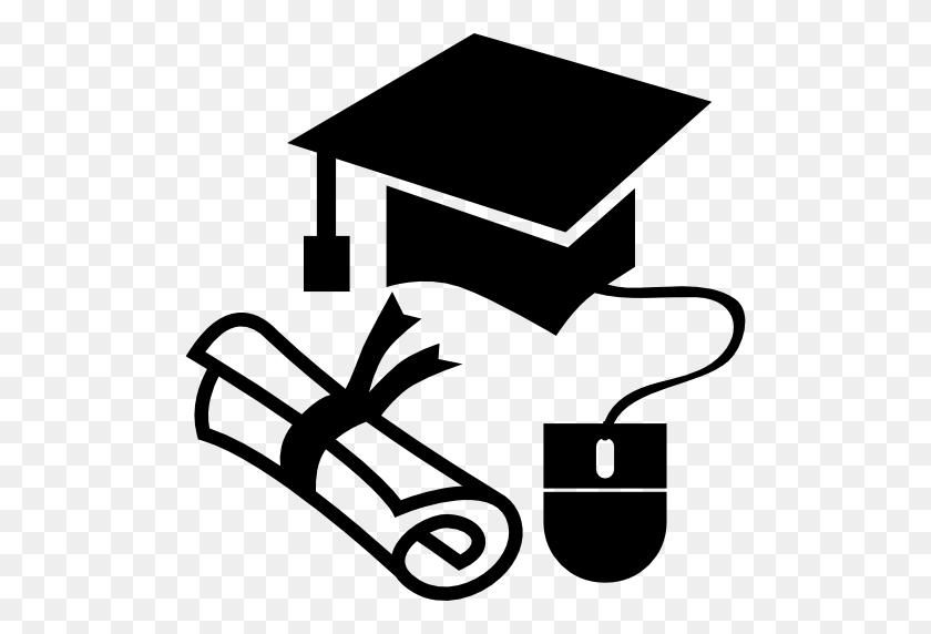 Education, Hat, Diploma, Graduation Diploma, Mouse, Graduation Cap - Graduation Cap And Diploma Clipart
