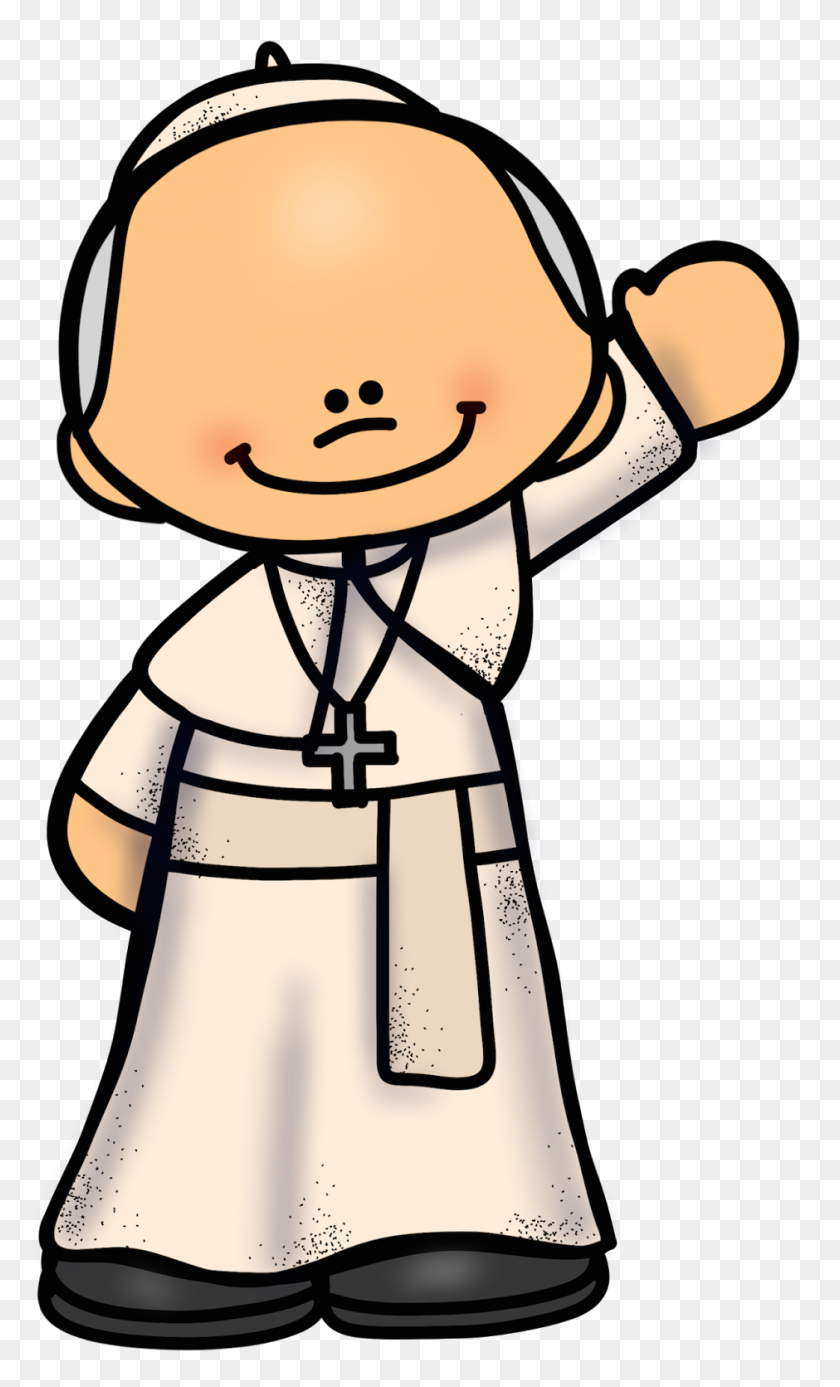 Educlips Design Free Pope Graphic Melonheadz Clip - Pope Clipart