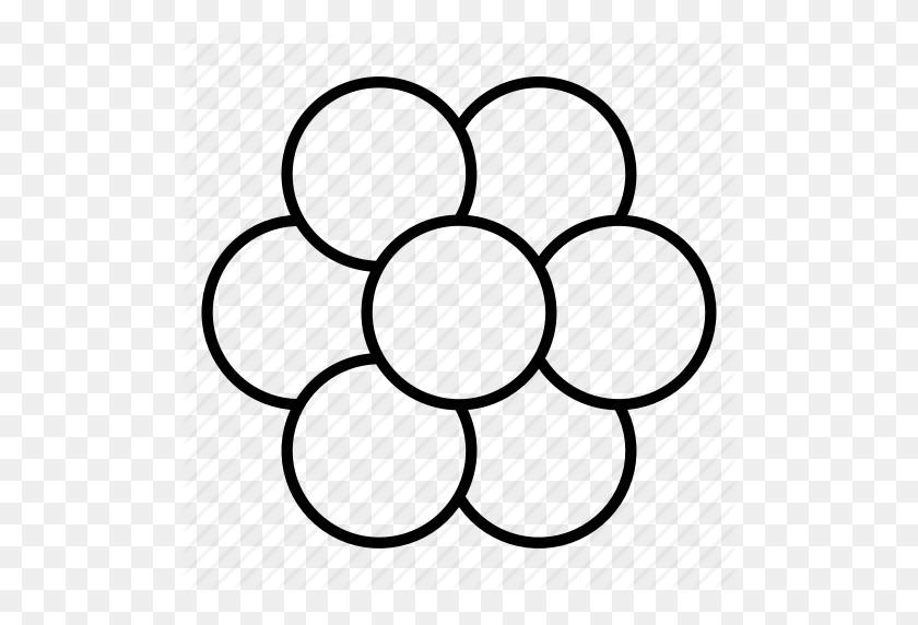 512x512 Egg Of Life, Geometry, Sacred Icon - Sacred Geometry PNG