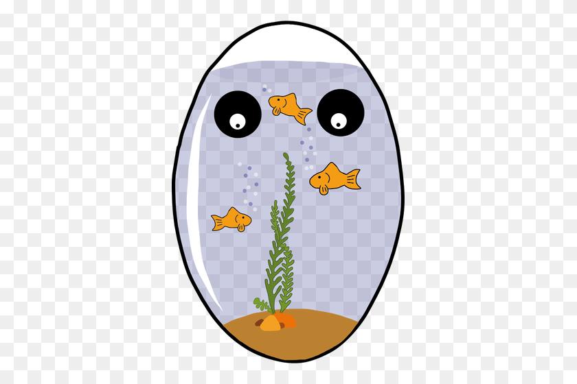 Egg Shaped Aquarium Vector Image - Aquarium Clipart