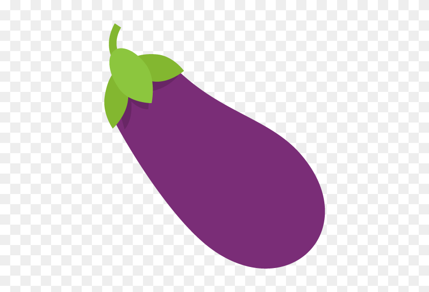 Eggplant Emoji Vector Icon Free Download Vector Logos Art - Eggplant Clipart