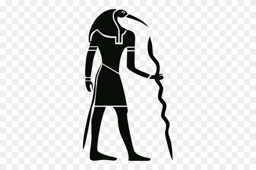 Egyptian Hieroglyph - Egyptian Clipart Black And White