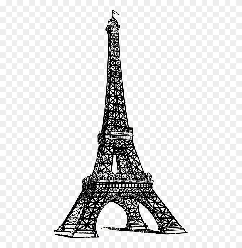 Eiffel Tower - Paris Eiffel Tower Clipart