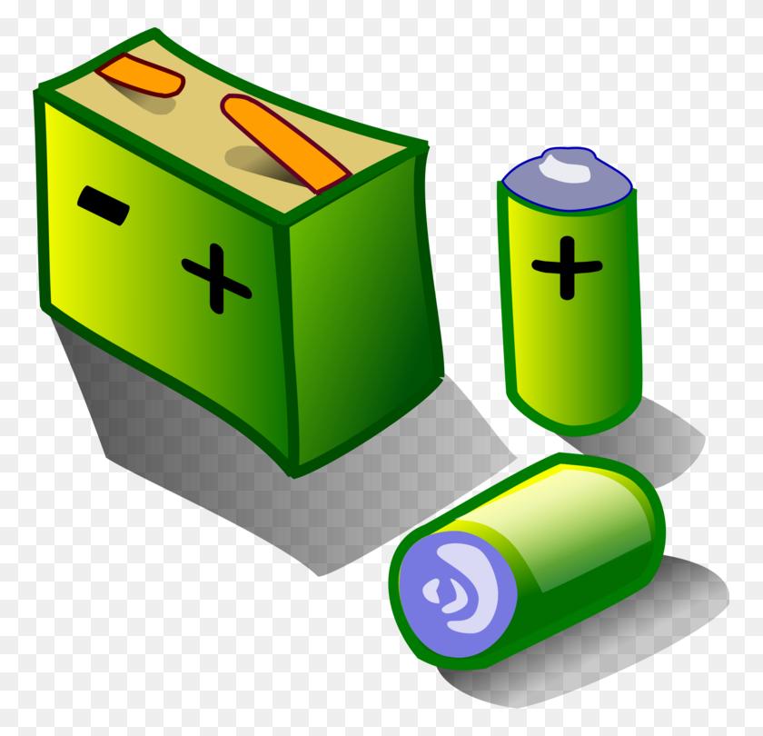 Electric Battery Automotive Battery Nine Volt Battery Laptop Aa - Aa Clip Art