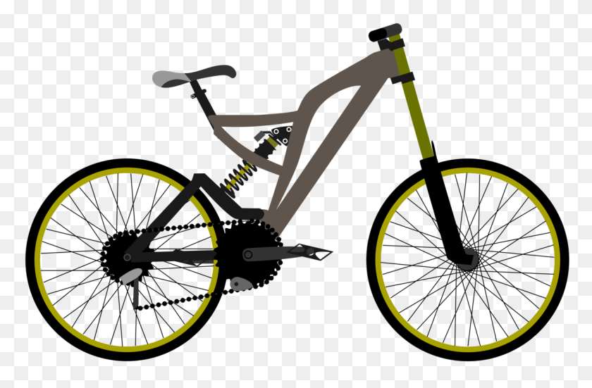 Electric Bicycle Mountain Bike Giant Bicycles Cannondale Bicycle - Mountain Bike Clip Art
