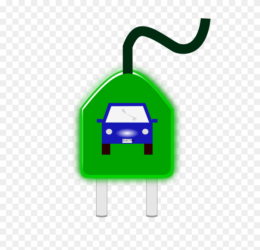 Electric Vehicle Electric Car Electricity Charging Station Free - Motorhome Clipart
