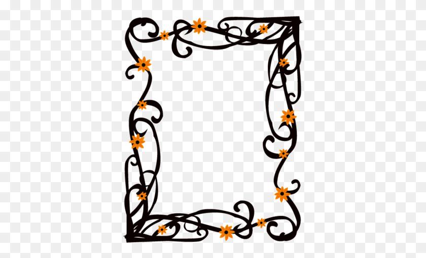 Elegant Floral Frame Border Vector - Elegant Border PNG