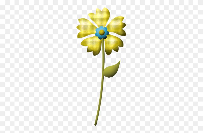 209x490 Element Cute Flower Clipart And Album - Winter Flowers Clipart