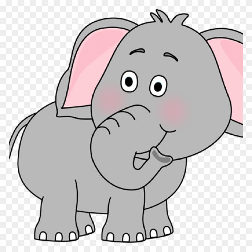Elephant Clip Art Cute - Elephant Clipart