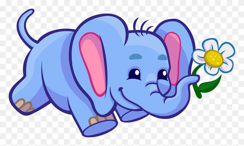 Elephant Clip Art Images Black - Popcorn Bag Clipart