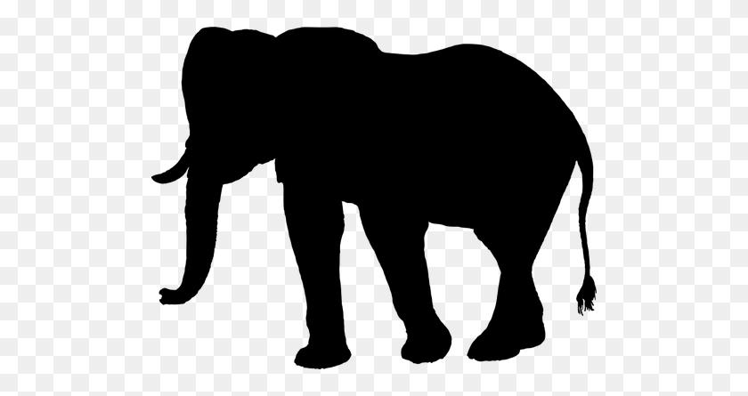Elephant Silhouette Clip Art Graphics Pu - Baseball Clipart Silhouette