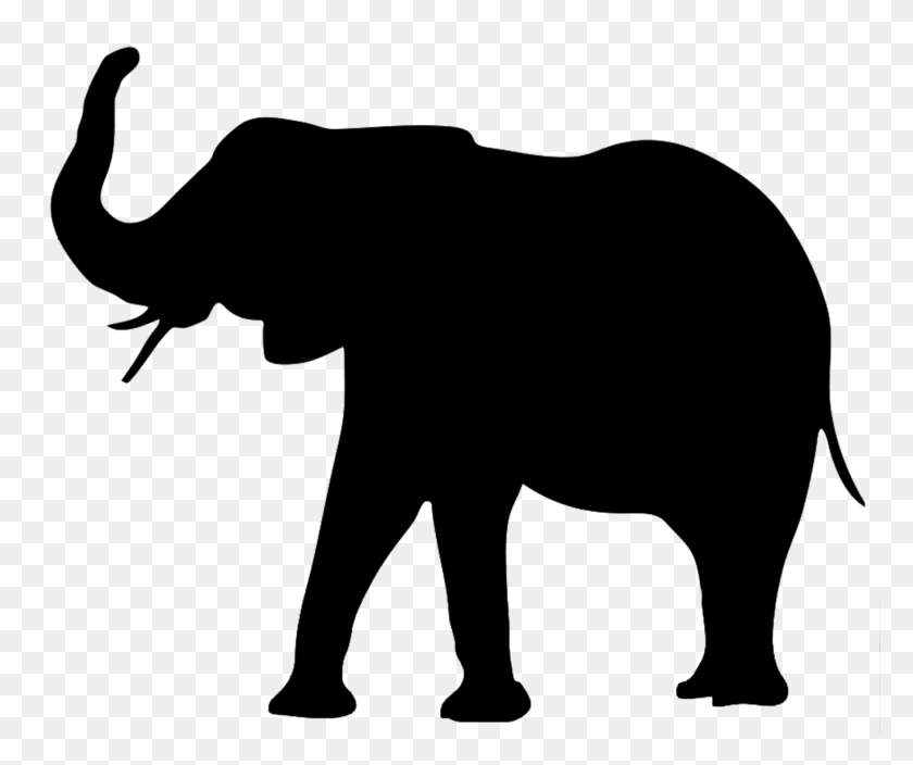Elephant Silhouette The Three Kings Animal - Mom And Baby Elephant Clipart