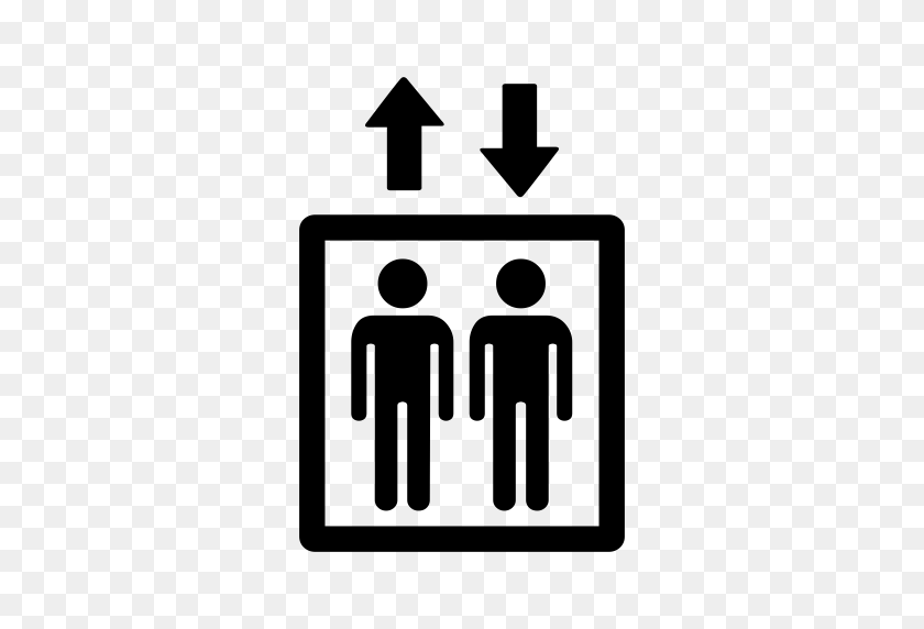 Elevator, Elevator, Lift Icon With Png And Vector Format For Free - Elevator Clipart Black And White