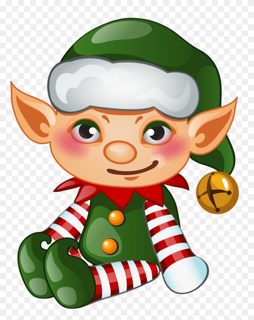 Elf Clipart Transparent Background - Cute Elf Clipart