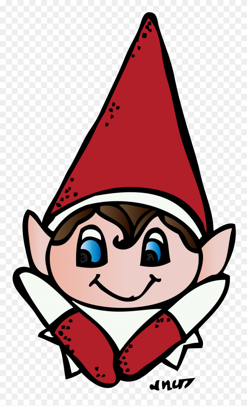 Elf On The Shelf Clipart Look At Elf On The Shelf Clip Art - Confused Doctor Clipart