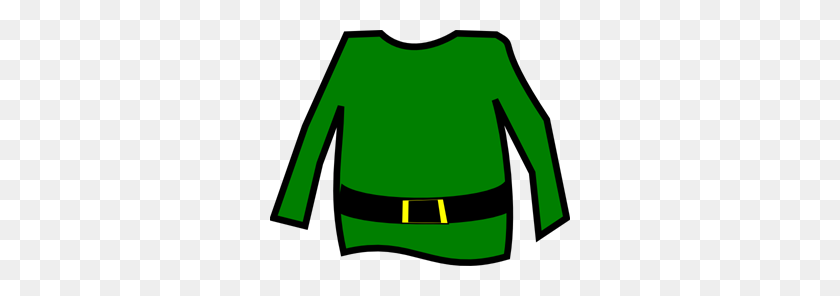 300x236 Elf Shurt Png, Clip Art For Web - Long Sleeve Shirt Clipart