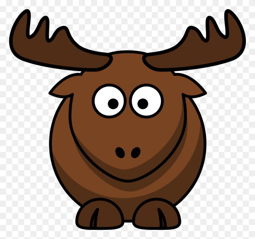 Elk Cartoon Drawing Download - Elk Clipart Free