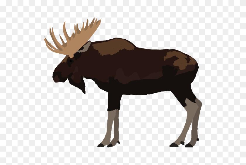 Elk Clipart Wildlife Alaska, Elk Wildlife Alaska Transparent Free - Elk Clipart