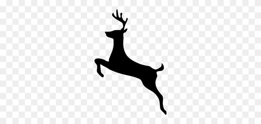 232x340 Elk Deer Moose Pronghorn Drawing - Moose Silhouette PNG