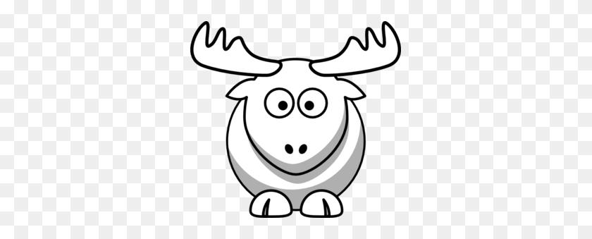 Elk Outline Clip Art - Elk Clipart