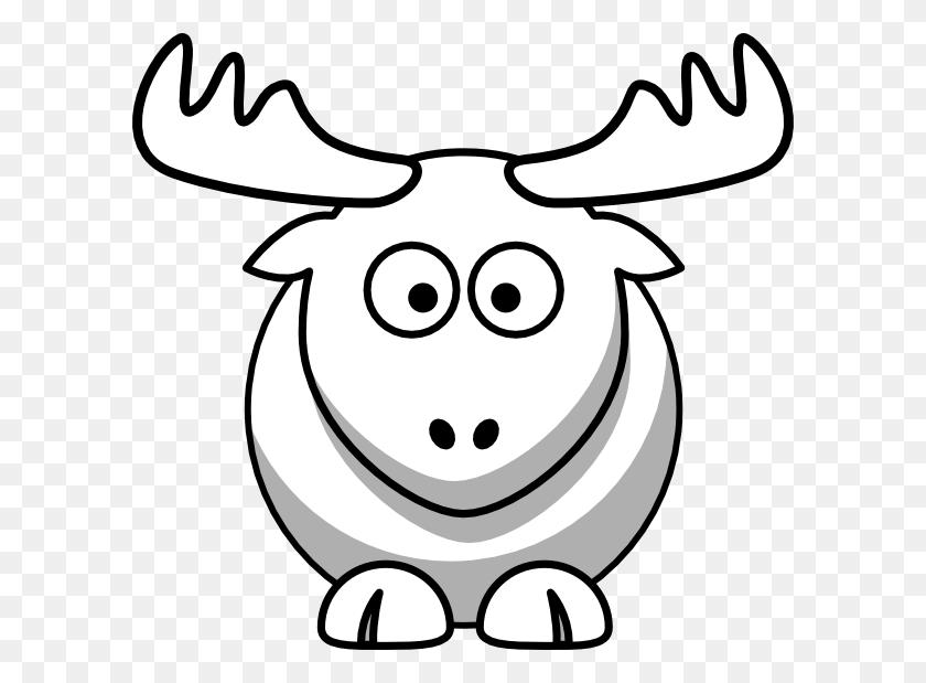 Elk Outline Clip Arts Download - Elk Head Clip Art